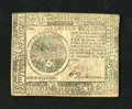 Colonial Notes:Continental Congress Issues, Continental Currency February 26, 1777 $7 Extremely Fine-About New.A couple of light folds are all that separate this attra...