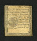 Colonial Notes:Pennsylvania, Pennsylvania April 10, 1777 3d Extremely Fine. This is the smallestdenomination from this rather sizeable issue that is ver...