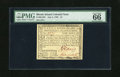 Colonial Notes:Rhode Island, Rhode Island July 2, 1780 $1 PMG Gem Uncirculated 66EPQ. Anastounding example of this later date Rhode Island issue that ha...