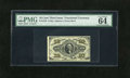 Fractional Currency:Third Issue, Fr. 1255 10c Third Issue PMG Choice Uncirculated 64EPQ. Exceptional embossing and bold print quality are both clearly seen t...