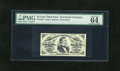 Fractional Currency:Third Issue, Fr. 1294 25c Third Issue PMG Choice Uncirculated 64EPQ. A well margined and very well embossed example of this green back Fe...