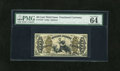 Fractional Currency:Third Issue, Fr. 1347 50c Third Issue Justice PMG Choice Uncirculated 64EPQ. A very well margined and colorful example of this red back J...