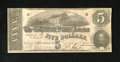 Confederate Notes:1862 Issues, T53 $5 1862. Healthy edges and paper for the grade are found onthis $5. Fine....