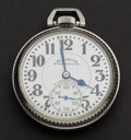 Timepieces:Pocket (post 1900), Illinois Elinvar Bunn Special 21 Jewel 161 A Pocket Watch. ...