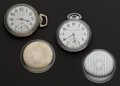 Timepieces:Pocket (post 1900), Two Hamilton 21 Jewel 18 Size Pocket Watches . ... (Total: 2 Items)