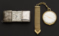 Timepieces:Other , Movado Purse Watch & Girard Perregaux Pocket Watch With FobRunners. ... (Total: 2 Items)