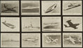 "Non-Sport Cards:Sets, 1950's D85 Purity Pretzel Stix ""Pictures of U.S. Air Force Planes, U.S. Navy Planes, Ships of the U.S. Navy"" Partial Set (37)...."