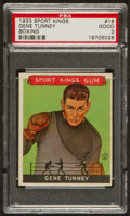 Boxing Cards:General, 1933 Sport Kings Gene Tunney #18 PSA Good 2....