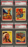"Non-Sport Cards:Lots, 1933-40 Goudey Indians PSA-Graded Group (4) - All ""series of 312""...."