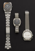 Timepieces:Wristwatch, Two Wittnauer Automatic & One Bulova Manual Wind Wristwatches. ... (Total: 3 Items)