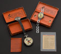 Timepieces:Pocket (post 1900), Ingersoll Mickey Mouse Pocket Watch, Wristwatch, Boxes & Fob. ... (Total: 2 Items)