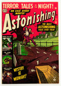 Golden Age (1938-1955):Horror, Astonishing #20 (Atlas, 1952) Condition: VG/FN....