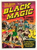 Golden Age (1938-1955):Horror, Black Magic #2 (Prize, 1950) Condition: VG/FN....