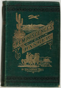 Books:Americana & American History, [Californiana]. Major Horace Bell. Reminiscences of a Ranger or,Early Times in Southern California. Los Angeles...