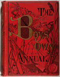 "Books:Children's Books, The Boy's Own Annual. London: ""Boy's Own Paper"" Office,[1900]. First edition. Quarto. 824 pages. Illustrated in bla..."