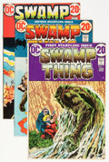 Bronze Age (1970-1979):Horror, Swamp Thing Group (DC, 1972-82) Condition: Average FN.... (Total:13 Comic Books)