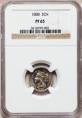 Proof Three Cent Nickels: , 1888 3CN PR65 NGC. NGC Census: (365/181). PCGS Population(400/194). Mintage: 4,582. Numismedia Wsl. Price for problemfree...