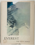 Books:Natural History Books & Prints, Thomas F. Hornbein. Everest. The West Ridge. San Francisco: Sierra Club, [1965]. First edition. Folio. [200] pages. ...