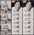 """Baseball Collectibles:Photos, Phil """"Scooter"""" Rizzuto Holy Cow I Made It Signed Photographs Lot of15...."""
