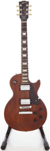 Musical Instruments:Electric Guitars, 2006 Gibson Les Paul Studio Faded Solid Body Electric Guitar,#023660586....