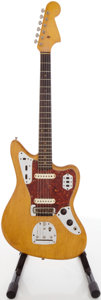Musical Instruments:Electric Guitars, 1963 Fender Jaguar Refinished Solid Body Electric Guitar, #L13391....