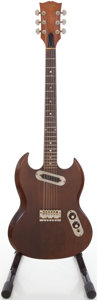 Musical Instruments:Electric Guitars, Circa 1972 Gibson SG Walnut Solid Body Electric Guitar, #X69683....