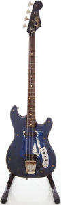Musical Instruments:Bass Guitars, 1960's Hagstrom I Electric Bass Guitar, #6901053....