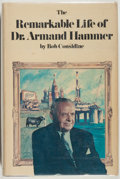 Books:Biography & Memoir, [Armand Hammer, subject]. SIGNED BY HAMMER. Bob Considine. TheRemarkable Life of Dr. Armand Hammer. New York: Harpe...