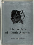 Books:Natural History Books & Prints, [Natural History]. Stanley P. Young and Edward A. Goldman. The Wolves of North America. Washington, D.C.: Americ...