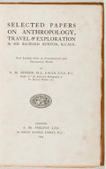 Books:Travels & Voyages, Sir Richard Burton. Selected Papers on Anthropology, Travel & Exploration. Now Edited... by N. M. Penzer. London...