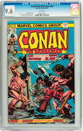 Bronze Age (1970-1979):Miscellaneous, Conan the Barbarian #53 (Marvel, 1975) CGC NM+ 9.6 White pages....