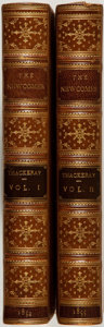Books:Fiction, [William Makepeace Thackeray]. The Newcomes. Memoirs of a MostRespectable Family. London: Bradbury and Evans, 1854-...(Total: 2 Items)