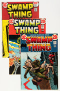 Bronze Age (1970-1979):Horror, Swamp Thing Group (DC, 1972-85) Condition: Average VF/NM....(Total: 12 Comic Books)