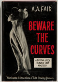 Books:Mystery & Detective Fiction, [Erle Stanley Gardner]. A. A. Fair. Beware of the Curves. New York: Morrow, 1956. First edition, first printing. Twe...