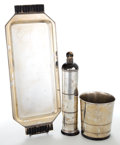 Silver & Vertu, A LURELLE GUILD SILVER PLATED COCKTAIL SET FOR INTERNATIONAL SILVER . Designed by Lurelle Van Arsdale Guild (American, 1898-... (Total: 3 Items)