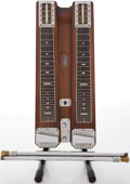 Musical Instruments:Lap Steel Guitars, Circa Early 1950's Fender Double 8 Professional Walnut Lap SteelGuitar, #3449....