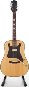 Musical Instruments:Acoustic Guitars, Circa 1970's Epiphone Japan Natural Acoustic Guitar....
