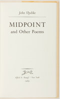 Books:Fiction, John Updike. SIGNED/LIMITED. Midpoint. New York: Knopf,1969. First edition, limited to 350 numbered copies of whi...