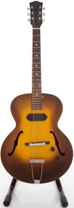 Musical Instruments:Electric Guitars, Circa Early 1960's Gibson ES-125 Refinished Archtop ElectricGuitar....