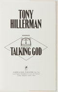 Books:Mystery & Detective Fiction, Tony Hillerman. SIGNED/LIMITED. Talking God. New York: Harper & Row, [1989]. First edition, limited to 300 numbere...