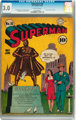 Superman #16 (DC, 1942) CGC GD/VG 3.0 Off-white pages