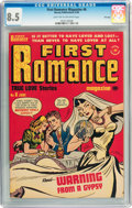Golden Age (1938-1955):Romance, First Romance Magazine #6 File Copy (Harvey, 1950) CGC VF+ 8.5Light tan to off-white pages....
