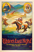 Entertainment Collectibles:Movie, Custer's Last Fight (Quality Amusement Corporation,R-1925)....