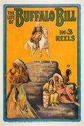 Entertainment Collectibles:Theatre, The Life of Buffalo Bill (Pawnee Bill Film Co., 1912)....