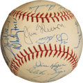 Baseball Collectibles:Balls, 1964 New York Yankees Team Signed Baseball (27 Signatures) -American League Championship Season! ...
