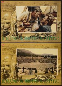 """The Good, the Bad and the Ugly (PEA, 1966). Italian Photobustas (8) (18"""" X 26.5""""). Western. ... (Total: 8 Item..."""