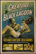 "Movie Posters:Horror, Creature from the Black Lagoon (Universal International, 1954). OneSheet (27"" X 41""). Horror.. ..."