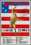 "Movie Posters:Rock and Roll, Bruce Springsteen Euro-Tour (1985). Poster (17.5"" X 25""). Rock andRoll.. ..."