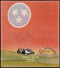 "Charlie Daniels Band Concert Poster (Sound Seventy, 1981). Autographed Concert Poster (19"" X 21.5""). Rock and..."