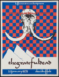 "Movie Posters:Rock and Roll, The Grateful Dead Concert Poster (Grateful Dead Merchandising,1988). Concert Poster (17"" X 22""). Rock and Roll.. ..."